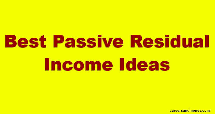 What is Passive income and what are the sources of Passive income.